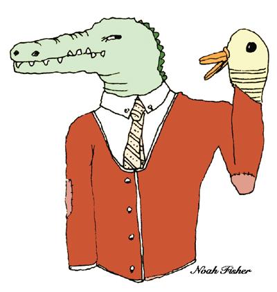 Alligator design by Noah Fisher