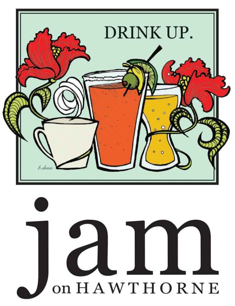 Jam on Hawthorne drink menu