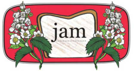Jam Menu art work